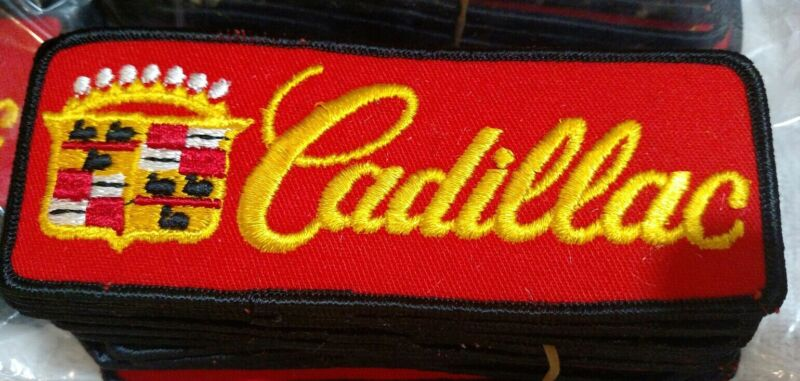 Vintage Cadillac Patch - 1 5/8 × 4 1/2 -  Iron/Sew On. Made In USA • 8$