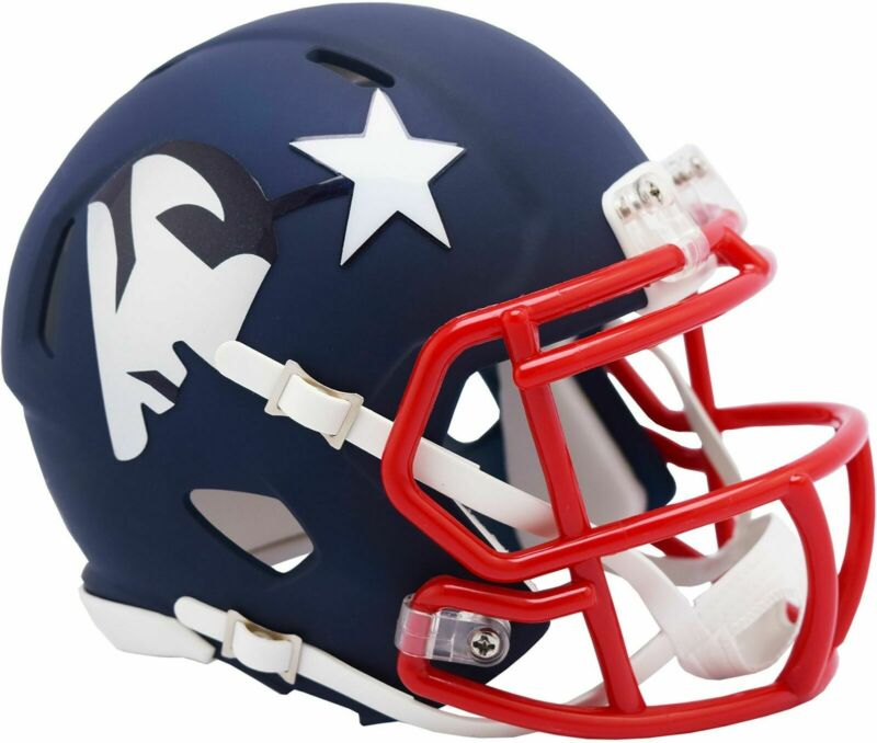 $29.99 • Buy New England Patriots Amp Alternate Riddell Speed Mini Helmet New In Box