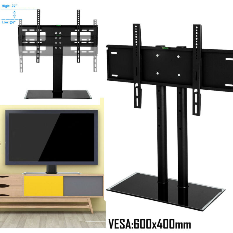 Universal Table Top TV Stand Base Bracket Mount For 30-65 Inch Flat-Screen LCD • 16.89$