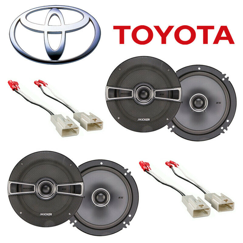 Fit Toyota Tundra 2003-2014 Factory Speaker Replacement Kicker (2) KSC65 Package • 199.90$