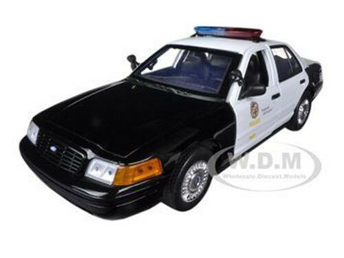 2001 Ford Crown Vic Lapd Los Angeles Police Department 1:18 By Motormax 73539 • 31.99$