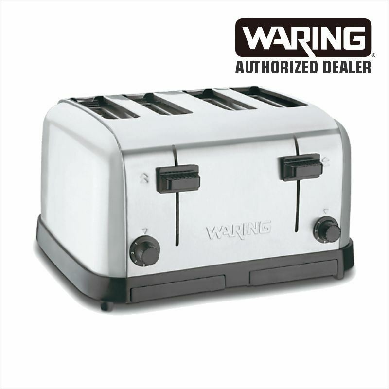 Waring WCT708 Commercial 4-Slot Toaster `120 Volt 1 Year Warranty Genuine WOW • 139.99$