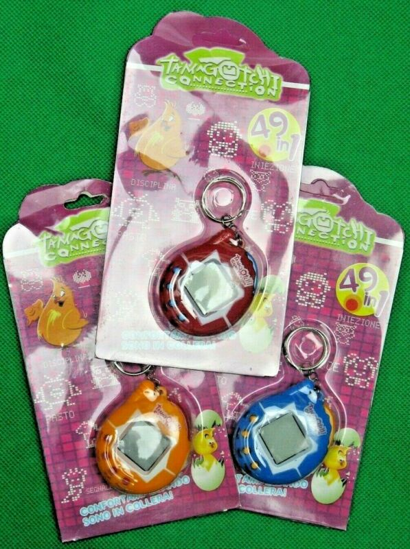 AU15.95 • Buy Tamagotchi 49 In 1 Pet-Games, Oval Shape, Blue, Red Or Yellow, Electronic Pet!