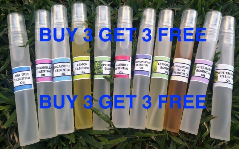 AU6.50 • Buy Essential Oils, Natural Oils 100% Pure. 10ml BUY 3, GET 3 FREE. ADD 6 TO BASKET