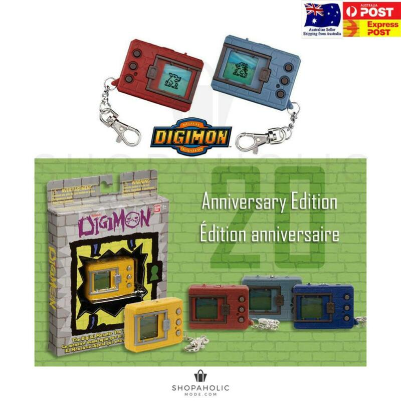 AU45.95 • Buy Bandai Digimon Digivice - 20th Anniversary Editon 2019 BNIB Tamagotchi