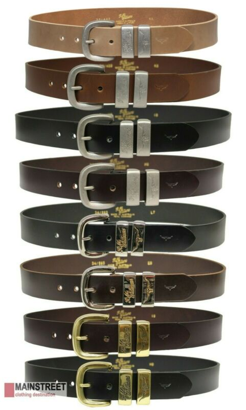 AU89.99 • Buy RM Williams Leather Work Belt - RRP 119.99 - Australian Made - FREE EXPRESS POST