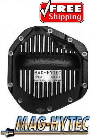 Mag Hytec Front Differential Cover 89-02 Dodge Ram 2500 3500 4x4 Pickup Truck • 280.25$