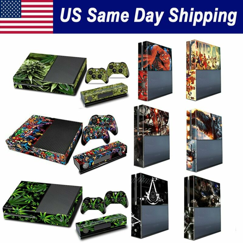 $9.86 • Buy Vinyl Protective Skin Xbox One Console 2 Wireless Controller Cover Decal Sticker
