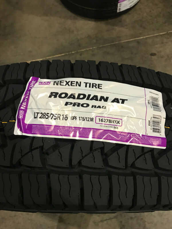 2 New LT 285 75 16 LRE 10 Ply Nexen Roadian AT Pro RA8 Tires • 309$