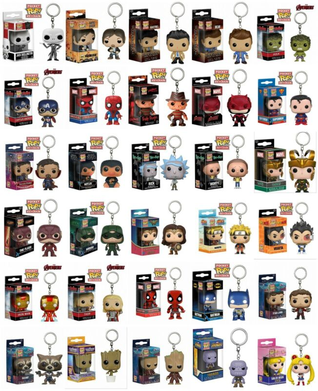 AU12.99 • Buy Keychain Funko Pocket Pop! Vinyl Figure Keyring Collectible Toy Gift New In Box