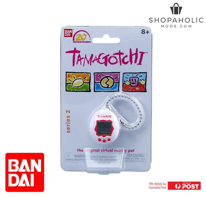 AU34.95 • Buy Bandai Tamagotchi 20th Anniversary Series 2 Chibi White With Red
