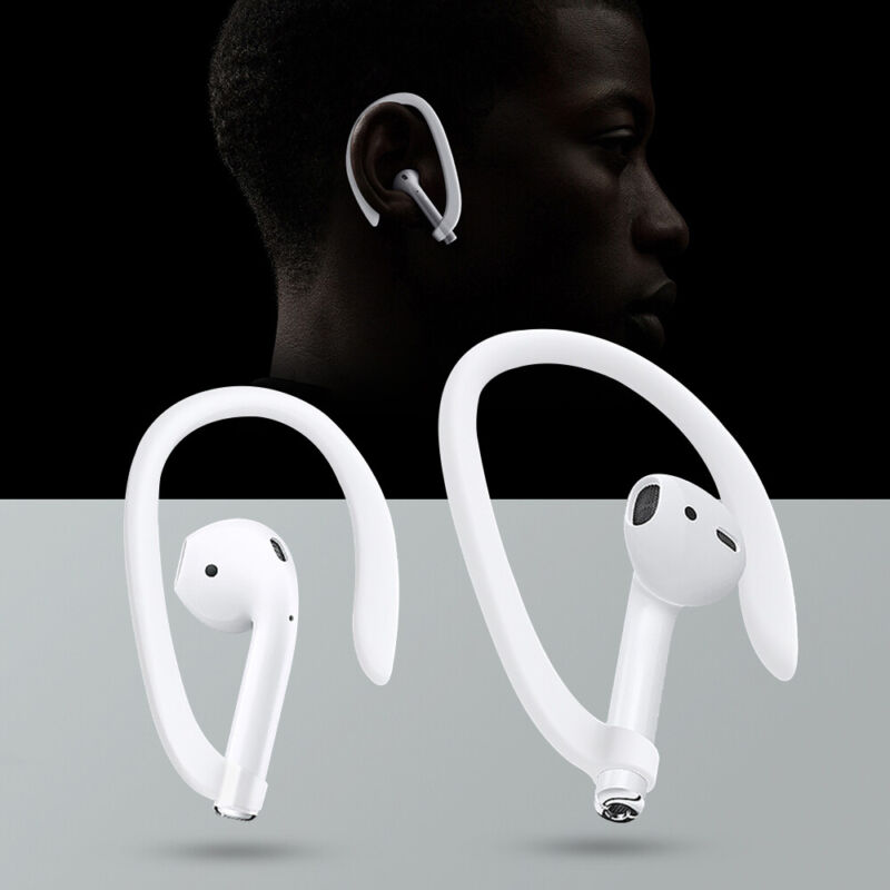 $ CDN1.48 • Buy 1 Pair Earhook Holder For Apple AirPods Strap Silicone Sports Anti-lost Ear Hook