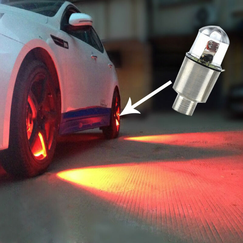 $ CDN3.48 • Buy 4x Car Auto SUV Wheel Tire Tyre Air Valve Stem LED Light Caps Cover Accessories