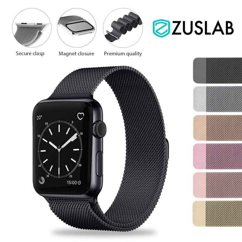 AU9.99 • Buy Apple Watch IWatch Band Series 5 4 3 2 1 Milanese Magnetic Stainless Steel Strap