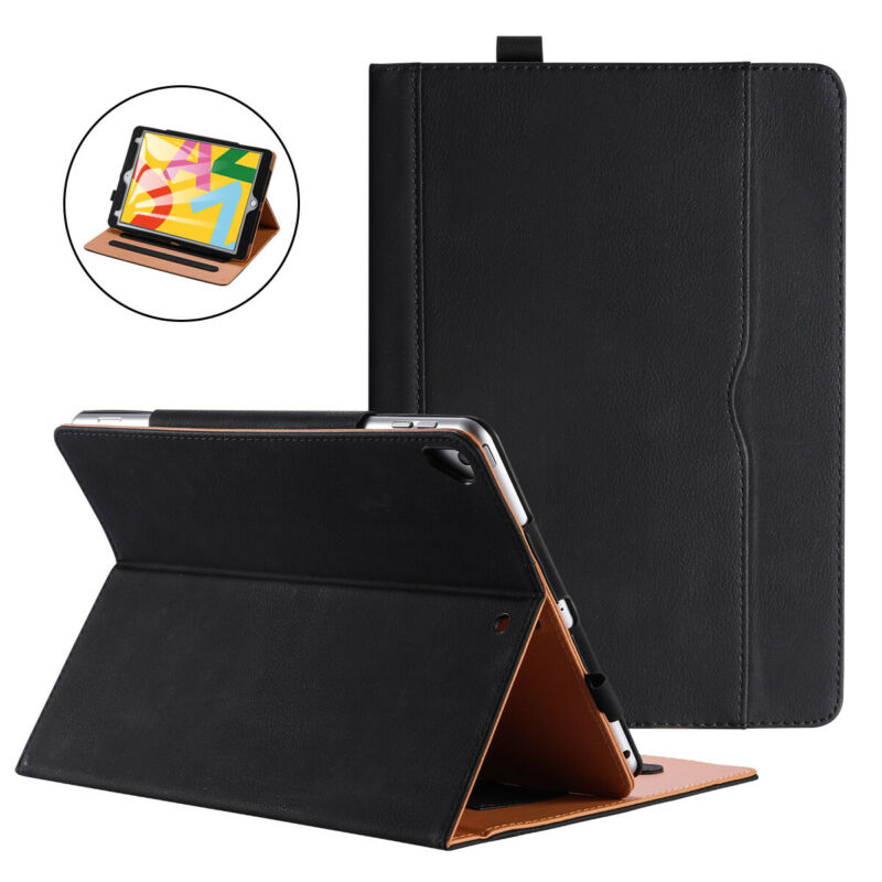 $17.09 • Buy Real Leather Luxury Case Flip Cover Fit For IPad 234 Air Mini Pro IPad 5, 6 & 7