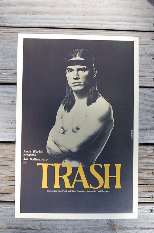 $5 • Buy Trash Lobby Card Movie Poster Andy Warhol