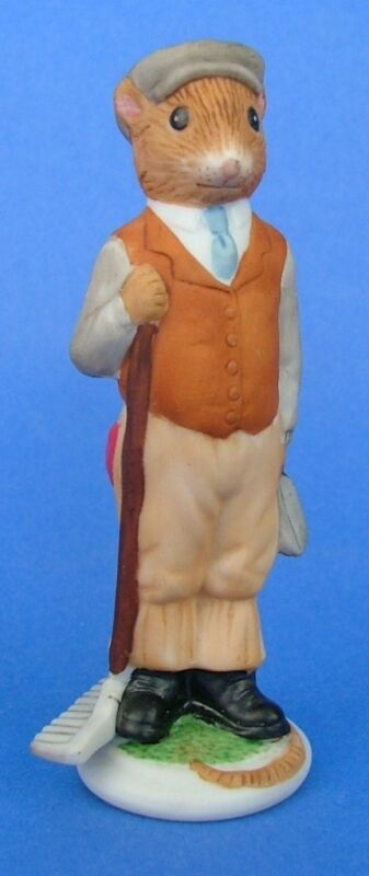 Franklin 1985 Woodmouse Family Mouse Figurine Henry • 17.99$
