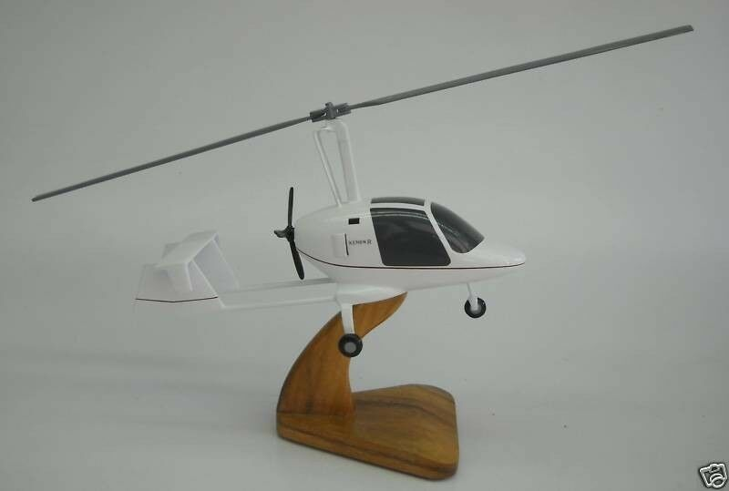 $ CDN235.13 • Buy Xenon Gyroplane Future Flight Helicopter Wood Model Small New