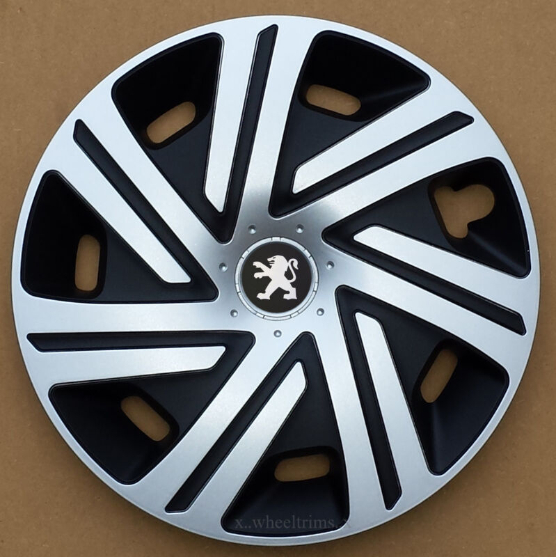 Set Of 4x15 Wheel Trims To Fit Peugeot 207 • 31.89€