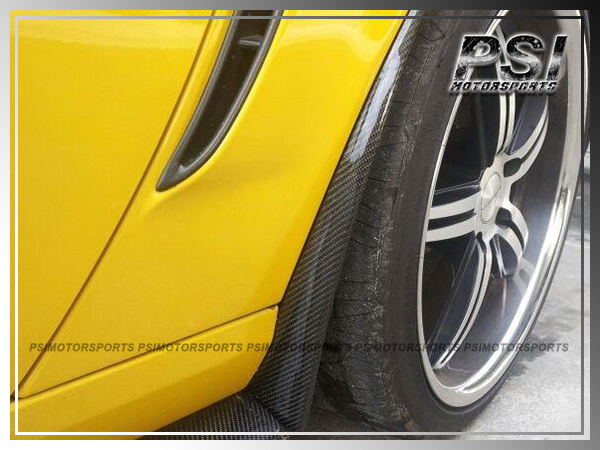 Carbon Fiber Side Skirts Mud Flaps For 2005-2013 Chevrolet Corvette C6 Z06 ZR1 • 199.99$