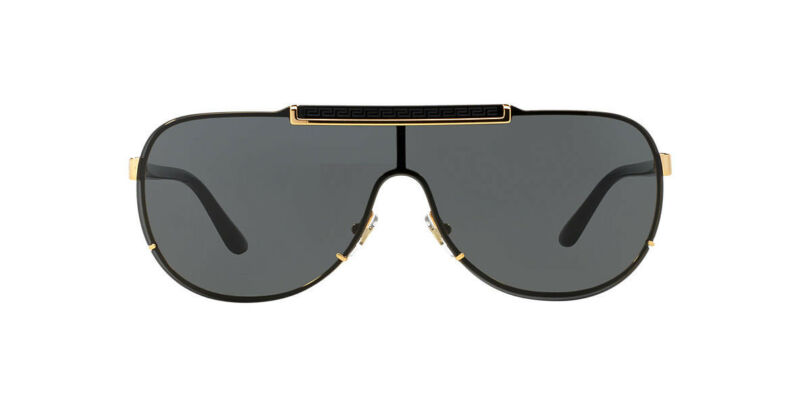 a8455033b0366 Versace Men s VE2140-100287-40 Gold Aviator Sunglasses VE 2140 1002 87 MEN