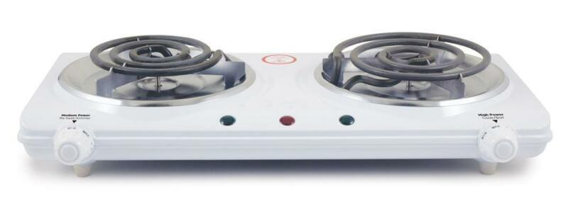 Portable Electric Dual 2 Burner Hot Plate Stove Top Cook Warmer Kitchen Im 306db