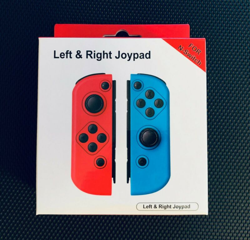Red & Blue Joy Pad Replacement For Nintendo Switch Joy-Con Wireless Controllers • 41.99$