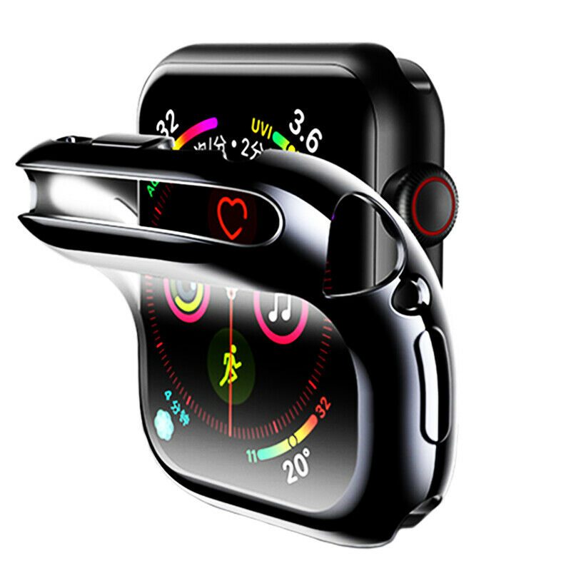 $ CDN3.29 • Buy Soft TPU Full Screen Protector Case Cover For Apple Watch Series 1/2/3/4/5