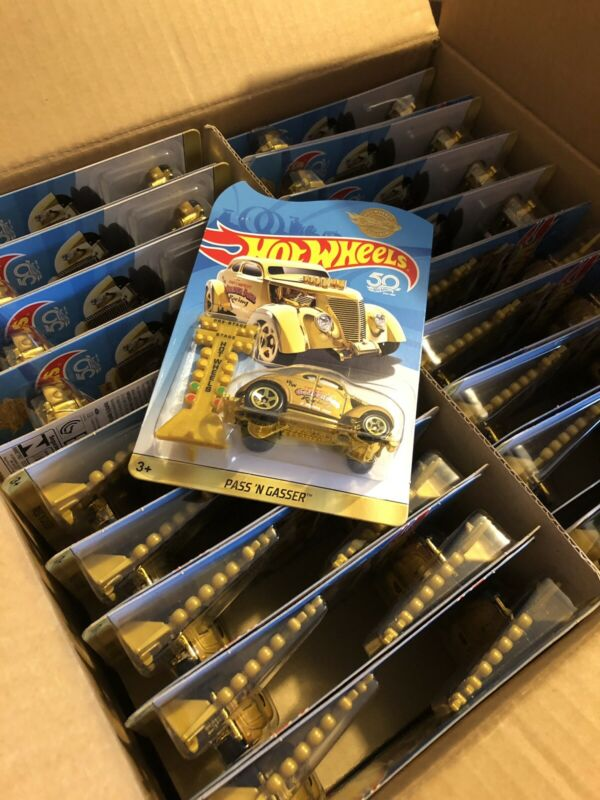 HOT WHEELS 2018  50th ANNIVERSARY PASS'N GASSER UK MAIL IN! USA Seller FREE SHIP • 16$