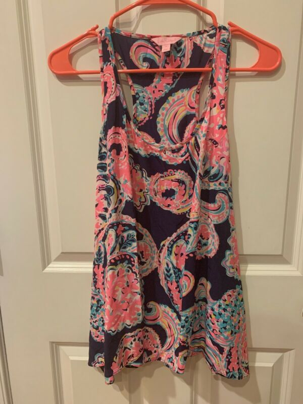 Lilly Pulitzer Tank Top Blouse Medium • 25$