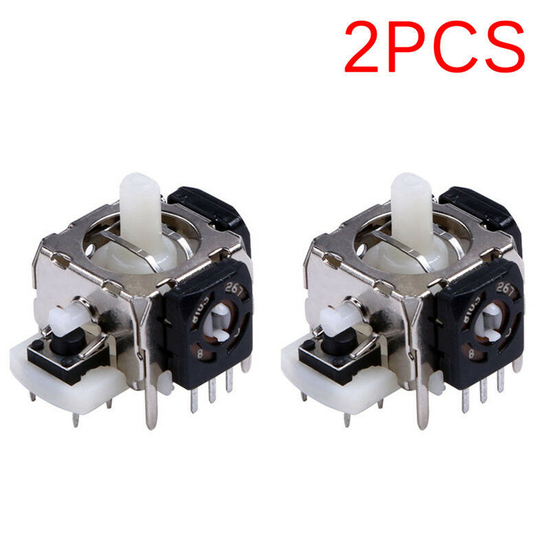 $6.46 • Buy 2PCS Replacement 3D Joystick Analog Stick For Xbox 360 Wireless Controller BWHHI