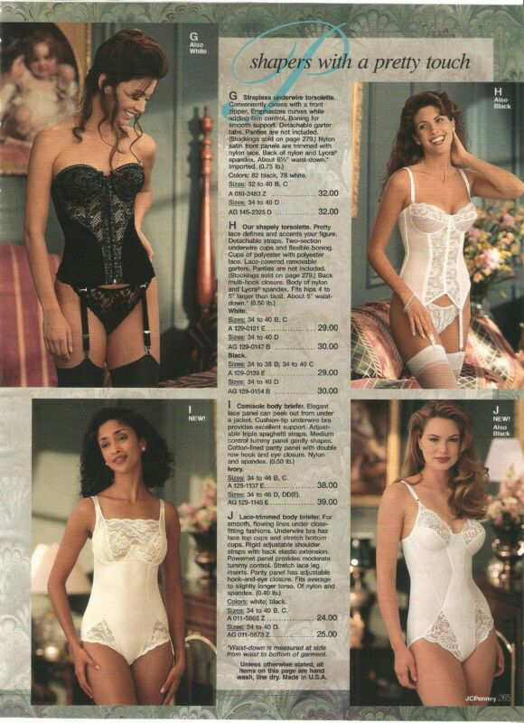 Lot Of 90's Vintage Catalog Lingerie Bras Briefers Photo Pages Ads Clippings • 9.99$