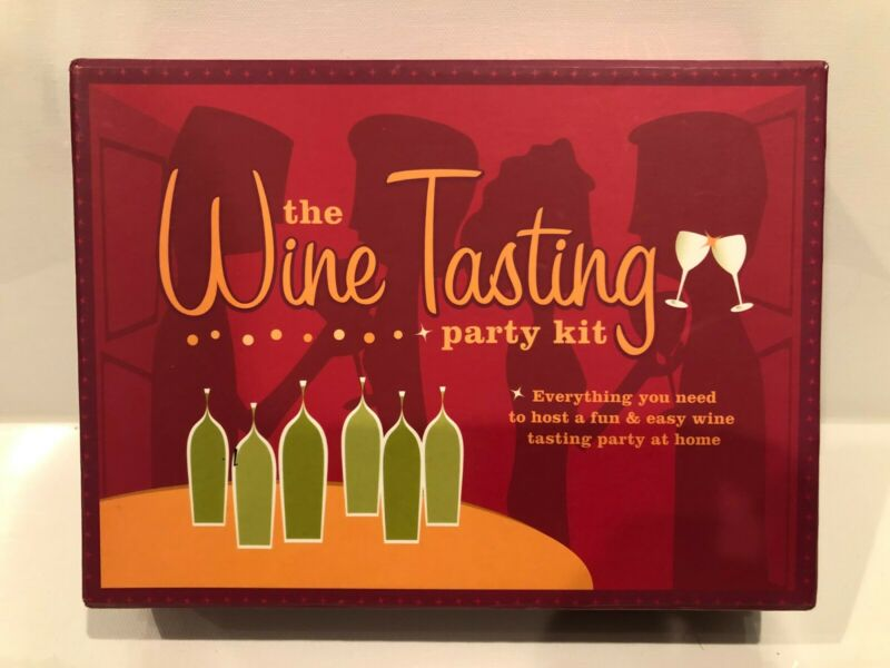 Wine Tasting Party Kit *COMPLETE* And Unused • 14.99$
