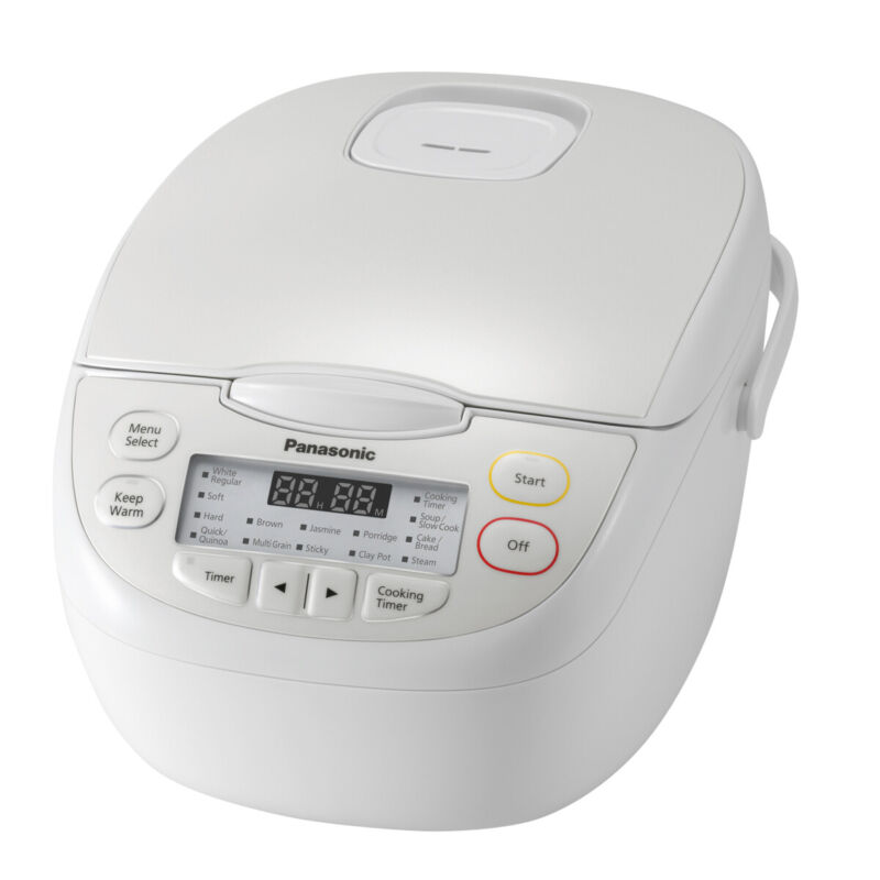 AU159 • Buy Panasonic - SR-CN108WST - 5 Cup Rice Cooker