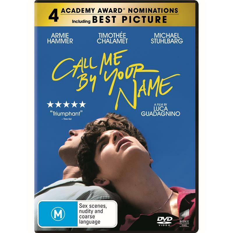 AU9.50 • Buy Call Me By Your Name (DVD, 2017)