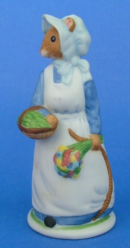 Franklin 1985 Woodmouse Family Mouse Figurine Daisy • 19.99$