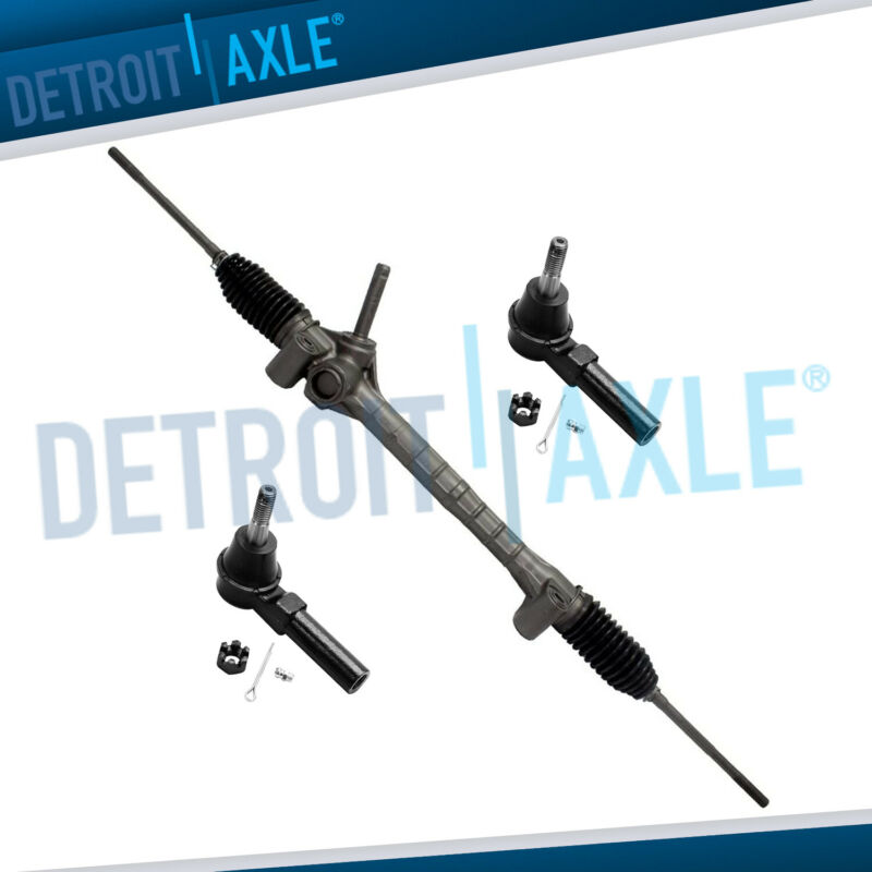 Detroit Axle Complete Power Steering Rack and Pinion Assembly for Buick Lesabre Park Ave /& Pontiac Bonneville w//o Magnasteer