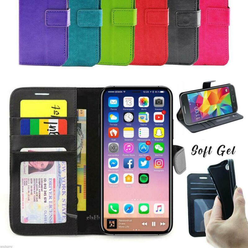 AU6.99 • Buy IPhone 8 7 6 Flip Wallet Leather  Case Cover For Apple IPhone 6 6S 7 8 Plus