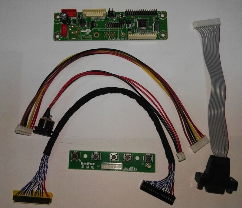 $9.49 • Buy LCD Controller Board DIY Kit(MT561-MD)Driver LVDS Inverter - Turn LCD To Monitor