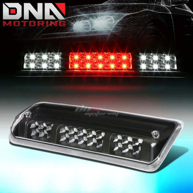 $19.68 • Buy For 2004-2008 Ford F150 2-row Led Third 3rd Tail Brake Light W/cargo Lamp Black