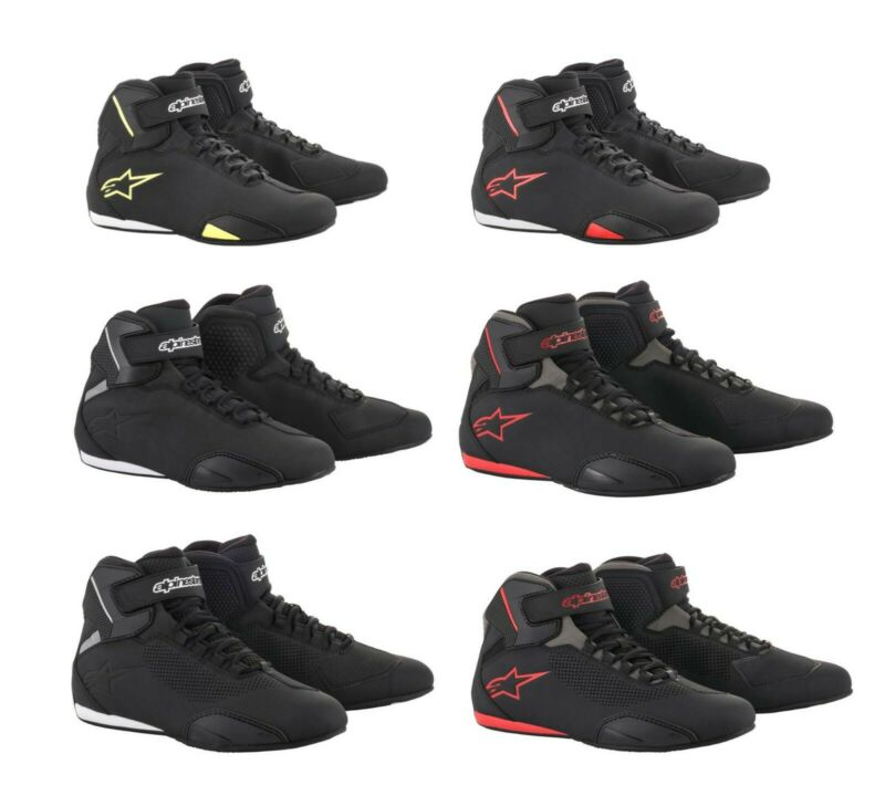 e7ae7a27be Alpinestars Mens Sektor Motorcycle Street Riding Shoes - Pick  Color Size Vented • 139.95