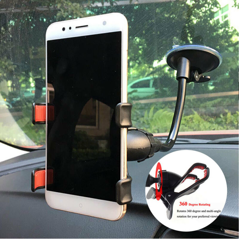 $5.69 • Buy Car AUTO ACCESSORIES 360° Rotating Cell Phone Windshield Mount Holder Universal