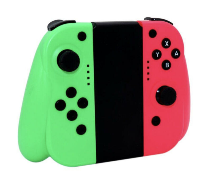 For Nintendo Switch Joy-Con (L/R) Wireless Bluetooth Controllers Set - Neon New • 34.05$