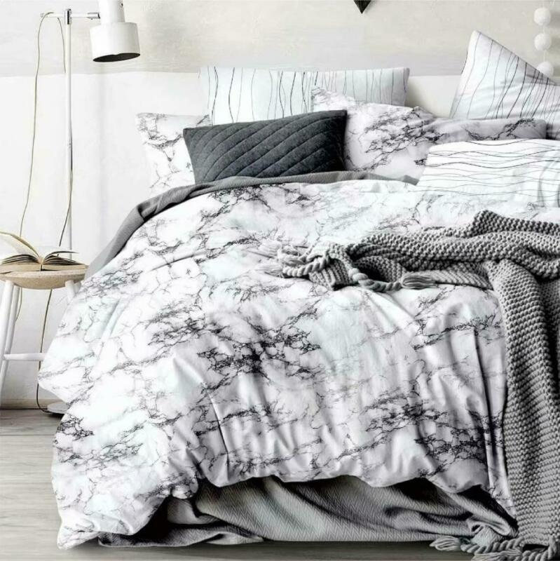 AU32 • Buy All Size Bed Ultra Soft Quilt Duvet Doona Cover Set Bedding Pillowcase Marble
