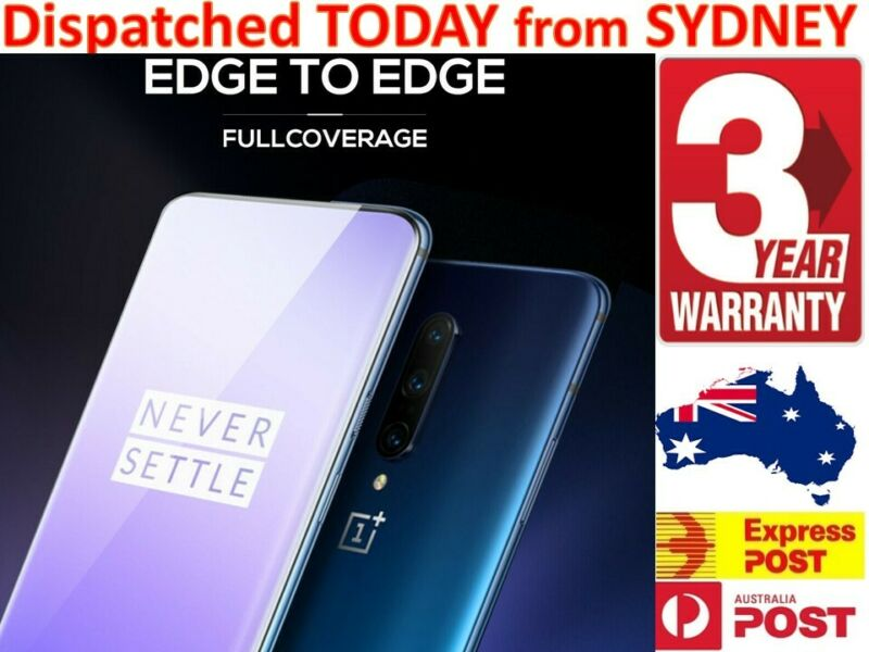 AU6.17 • Buy For OnePlus 3 5 6 6 7T Pro Full Cover Coverage Tempered Glass Screen Protector