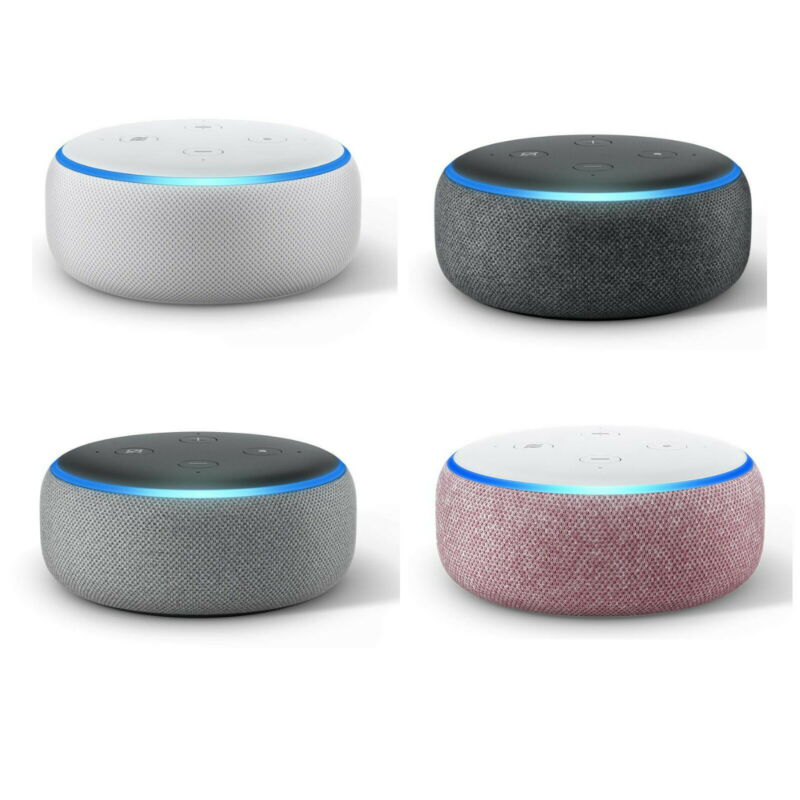 AU57.95 • Buy Echo Dot (3rd Gen) – Smart Speaker With Alexa 4 Colours (NEW & SEALED)