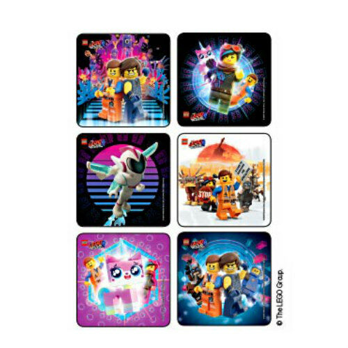 $3.35 • Buy 25 Lego Movie 2 STICKERS Party Favors Supplies For Birthday Treat Loot Bags