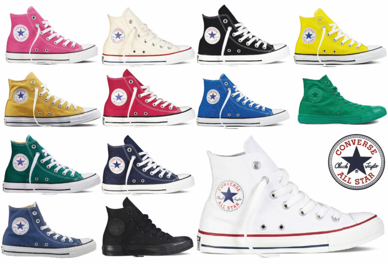 2all star converse bambini bianche