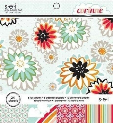 $10.55 • Buy S.e.i CORINNE Paper Pad / Stack 6 X 6  24 Sheets CLEARANCE PRICE