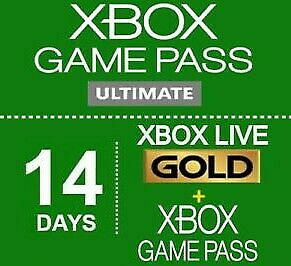 $7 • Buy Xbox Live 1 Month (2 X 14 Day) Membership Code Xbox One Only (Region Free)